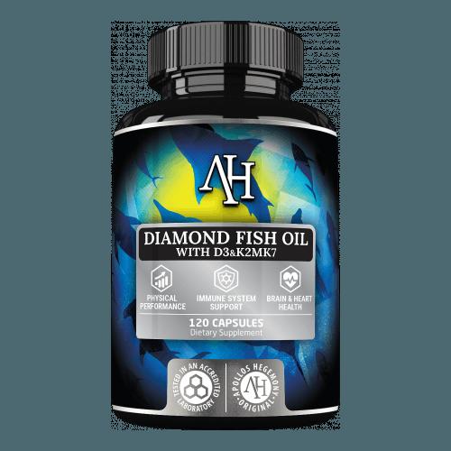 Rekomendowany suplement z kwasami Omega 3 oraz witaminą D - Apollo's Hegemony Diamond Fish Oil