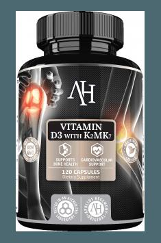 Rekomendowany suplement z witaminą D3 i K2 - Apollo's Hegemony Vitamin D3 with K2Mk7